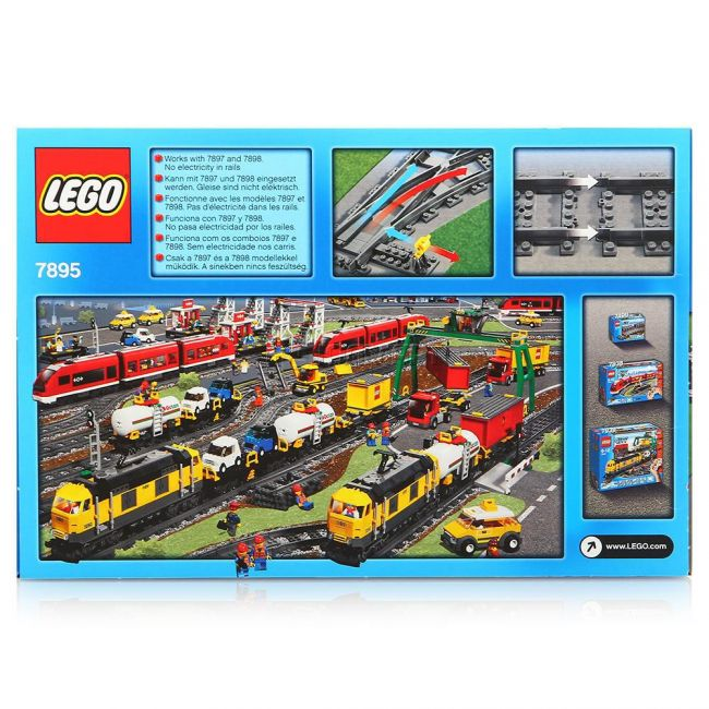 фото Конструктор LEGO City Железнодорожные стрелки (7895)