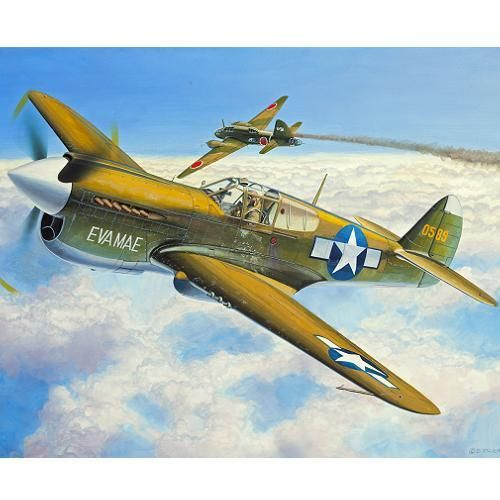 фото Американский истребитель P-40E Warhawk, серия Микро крылья
