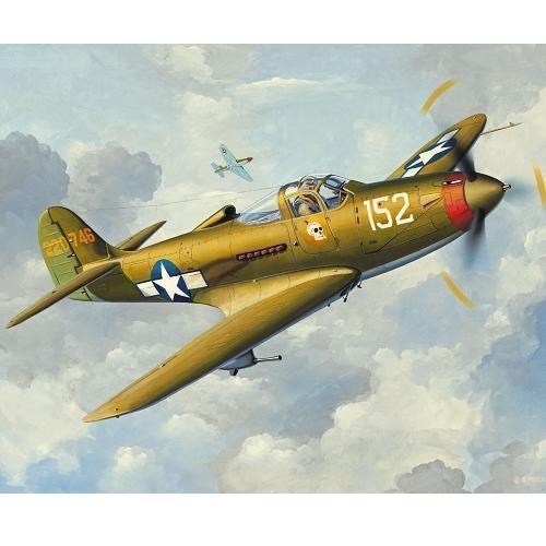 фото Самолет Истребитель P-39Q Аэрокобра (Микро крылья)
