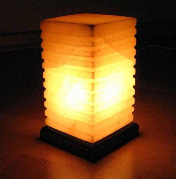 «ПЯТЫЙ ЭЛЕМЕНТ» Солевая лампа в виде КУБА SLL-12026-Д Wonder Life