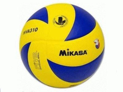 Мяч волейбольный. Игровой мяч, материал идентичен MVA200, гладкая поверхность.Официальный мяч Чемпионата России среди специализированных волейбольных школ. MVA 310