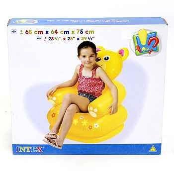 Надувное кресло TEDDY BEAR 65х64х75см 3-8 лет