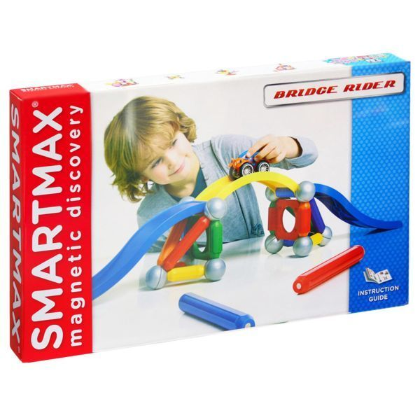 Магнитный конструктор SmartMax/ Bondibon набор: Мост, арт. 506.