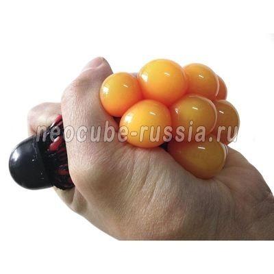 """Стрессбол """"Жмяка"""" - красный в оранжевый"""