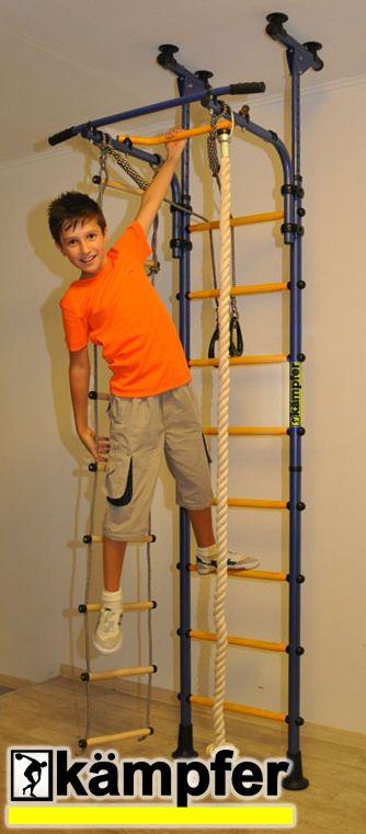 Детский спортивный комплекс ДСК Kampfer Strong kid ceiling New [белый антик золото]