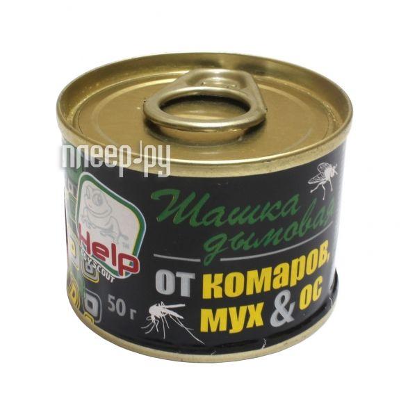 Шашка Boyscout HELP дымовая от комаров арт.80233, мух и ос 50 г., инсектицидная