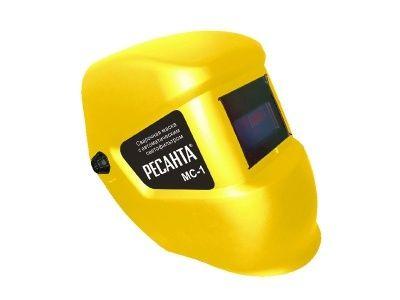 Сварочная маска МС-1 Желтая без питания