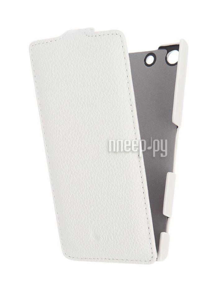Чехол-книжка Sony Xperia M5/M5 Dual Sipo White 8135