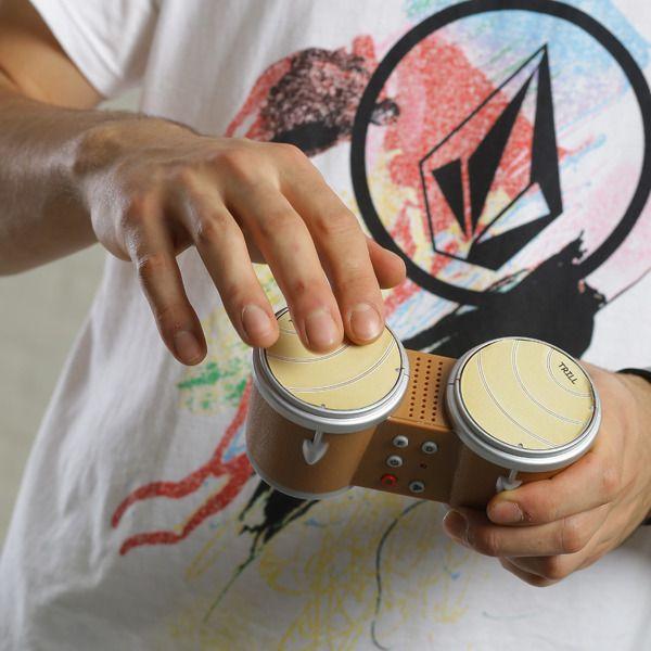 """Барабаны для пальцев """"Бинго бонго"""""""