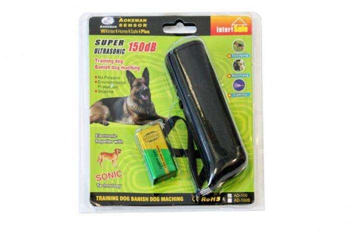 Отпугиватель собак ультразвуковой цвет черный (Dog Repeller)