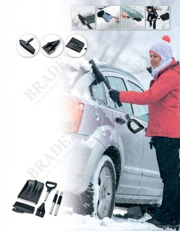 Набор для автолюбителя зимний 3 в 1 (SNOW SHOVEL)