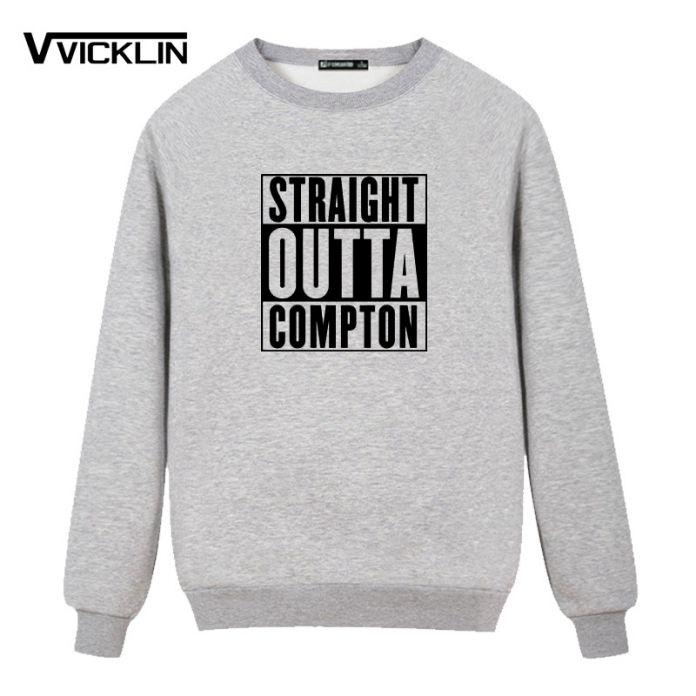 Straight Outta Compton NWA Уличной Мужчины Хип-Хоп Флис Капюшоном Толстовка Печати Camisetas Harajuku Моды Хлопка