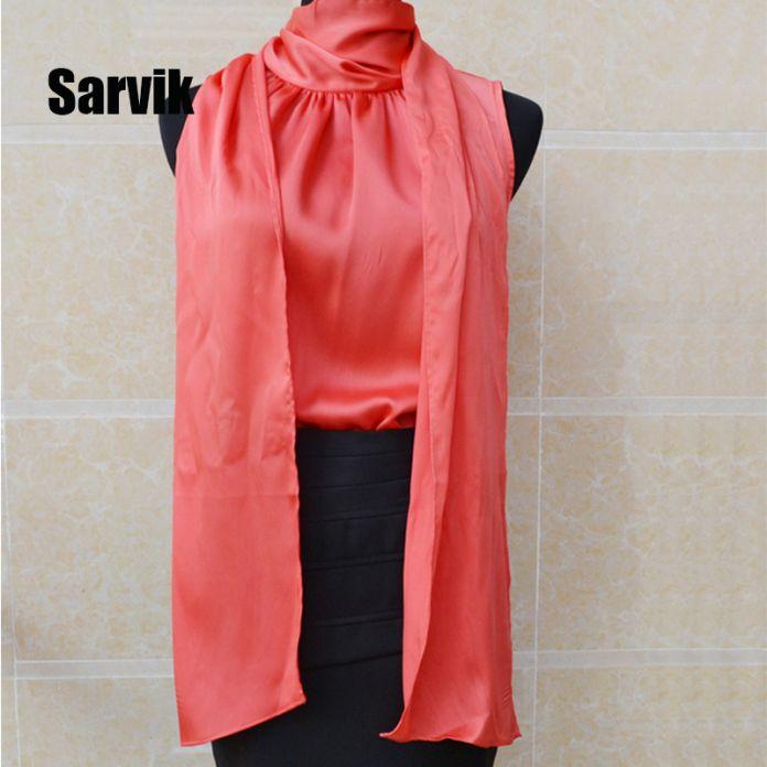 {Guoran} офис Леди качество Шелковые блузки для женщин вечернее платье Плюс размер S-5XL бант collor с длинным рукавом женские топы
