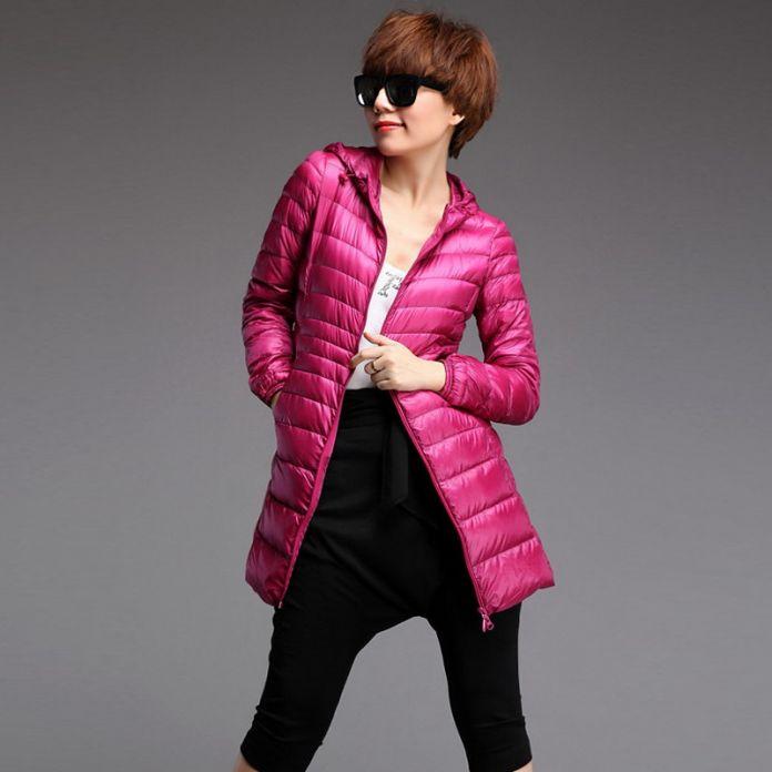 2016 новое поступление зимние пальто женщин 98% хлопок пуховик за куртки женщин тонкие пальто паркер 3 цвета Большой размер L-5xl CD100
