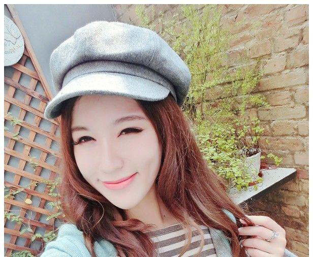 2016 Мода Твердые Берет Колпачок Для Женщин Теплый Открытый Зимний Плоские Береты женщин Шляпа Голые Chapeu Feminino Boina