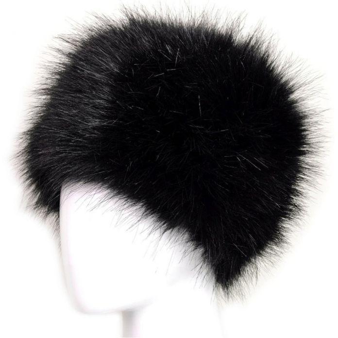 Русские Женщины Леди Искусственного Меха Лисы Earflap Снег Hat Казак Стиль Шапочки Теплую Шапку Зимой