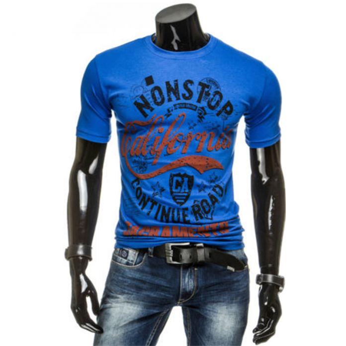 Бесплатная Доставка 2016 Человек Мода Топы Тис Короткий Рукав футболки мужские Футболки новый шею футболки мужчин T96
