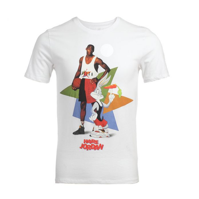 Майкл Джордан Майкл Джексон Маколей Калкин майка реклама vintage VTG ретро Bugs Bunny Футболка Король поп-топ тройник выстрел рубашка