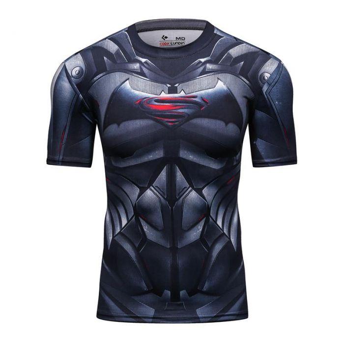Новый 2016 Коди Лундин Мужчины Гражданской Войны Тройник Сёатия T рубашки Марвел Мстители Костюм DC Comics Superhero Теэ Вершины для мужской