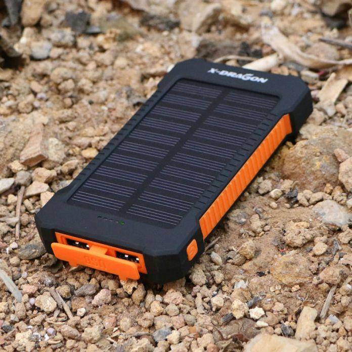 X-Дракон 10000 мАч Солнечной Энергии Банк Солнечное Зарядное Устройство Портативный Открытом Воздухе Аварийного Внешняя Батарея для Мобильного Телефона, бесплатная Доставка.
