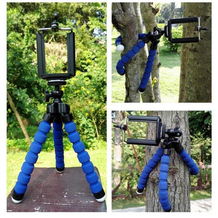 Портативный телефон цифровой камеры гибкая осьминог ноги штатив Для iphone 6 6 S 6 плюс 5 5S 4 4S для samsung S3 S4 S5 Note ДЛЯ Мобильных