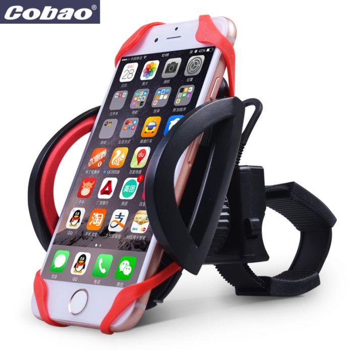Руль велосипедов телефон владельца Cobao мотоцикл держатель мобильного телефона Универсальный мотоцикл смартфон holdr для iphone samsung lg g4