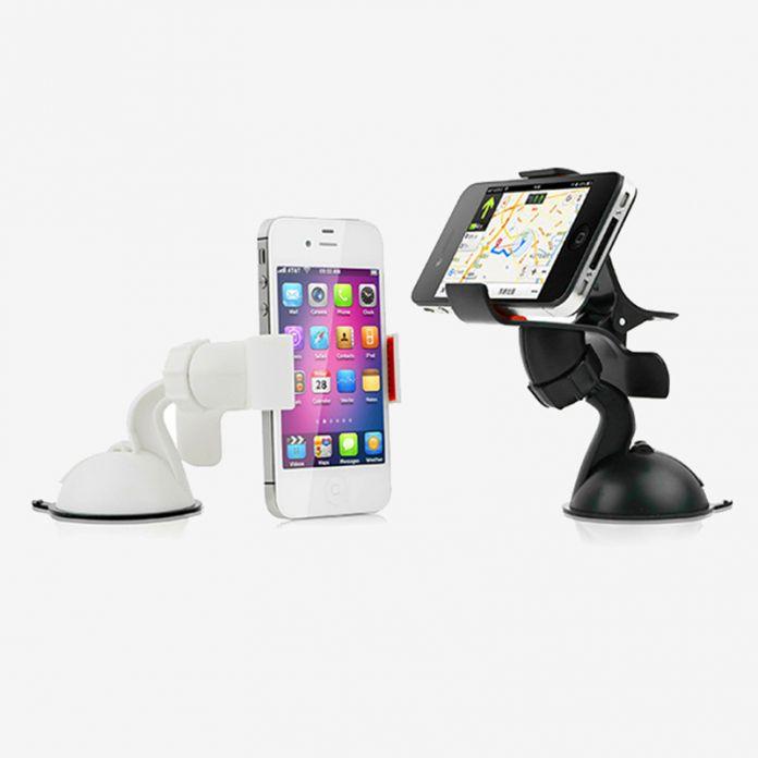 Тип Sucker для телефона держатель в автомобиль на лобовое стекло автомобильный держатель телефона для поддержки мобильных автомобилей рабочего для iphone 7