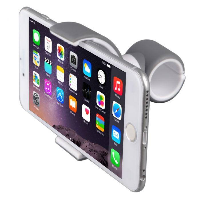 Универсальный гибкий держатель для автомобилей и велосипедов автомобильный держатель на руль для iPhone 6 6S Samsung S6 с возможностью 360 градусного вращения MH-1018