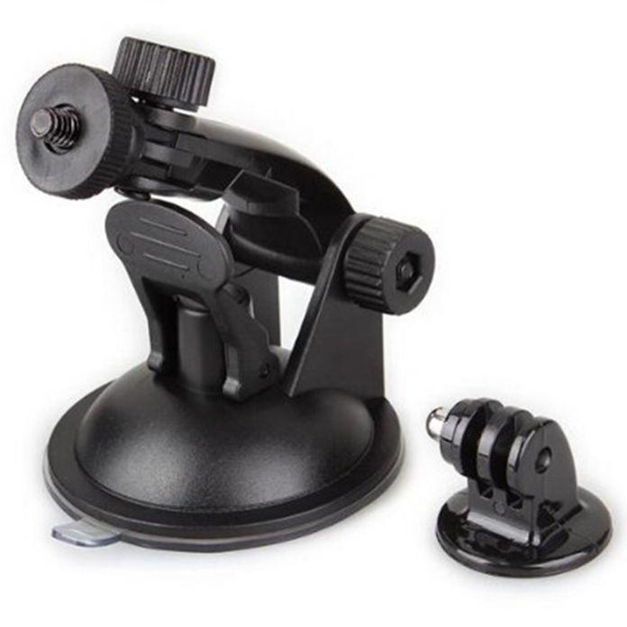 Автомобильный Держатель телефона Присоске Адаптер Окно Стекло Штатив для Gopro Hero 3 3 2 1 Камеры Go Pro Стенд аксессуары
