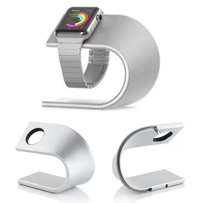 RACAHOO U Тип Специальный Уникальный Дизайн Металлический Кронштейн Дисплей Док Подставка Для Зарядки Держатель Для Apple Watch