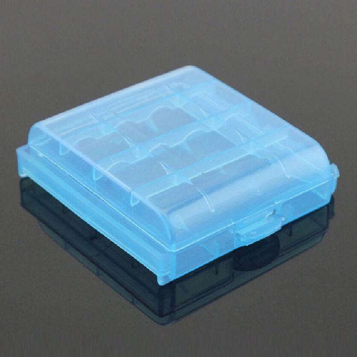 Подробная информация о 10 ШТ. Жесткий Пластмассовый Корпус Держатель Для Хранения Box для Аккумуляторной Батареи AA AAA (цвет послан случайно)