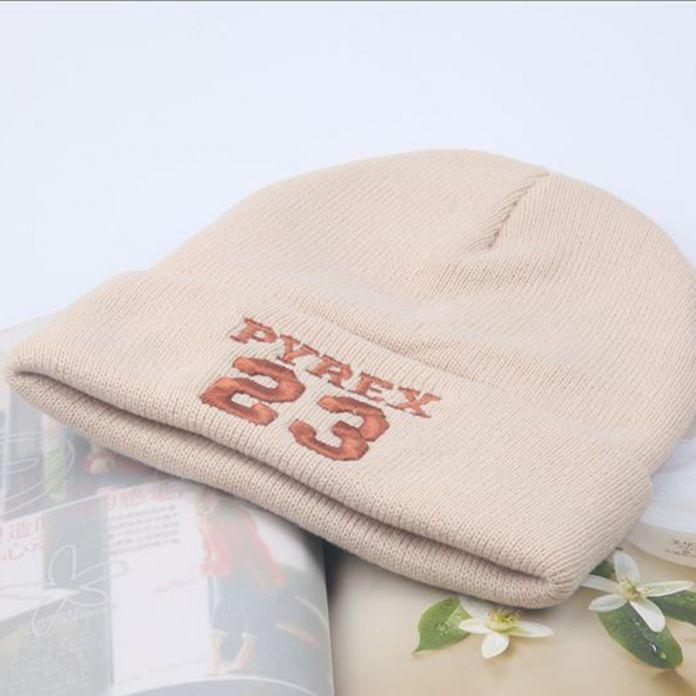 2016 из термостойкого 23 письмо вышивка шляпы для весны мягкий твердый детей шапочки хип-хоп теплый хлопок вязаная шапка для девочки шляпа унисекс