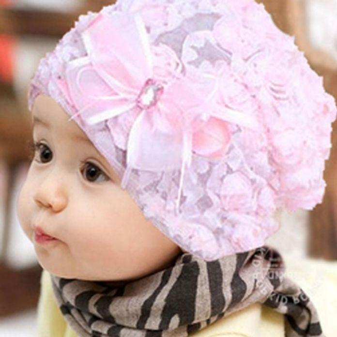Новый кружева детские hat для Девочек, новорожденных реквизит для фотографии, мода дети крышка цветка детские шапочки детские, детские летние шляпы # JH003
