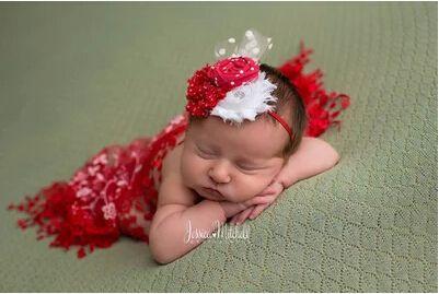 Шнурок простирания обернуть новорожденного фотографии реквизит душа ребенка Swaddlings реквизит для детского фото