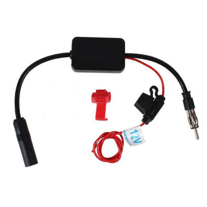 2016 Новый Черный 12 В Автомобиль Радио Усилитель Сигнала Amp АНТ-208 Авто FM/AM Антенна Бустер