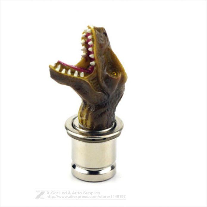 Универсальный Сигареты Сигары Электронная Зажигалка Дракон Волк Автомобилей Автоматическая Зажигалка 12 В Зажигалка Для Сигар