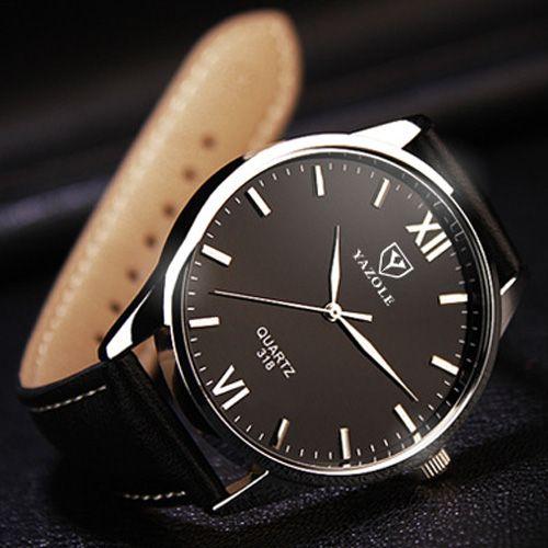 Наручные мужские часы YAZOLE Класса Люкс