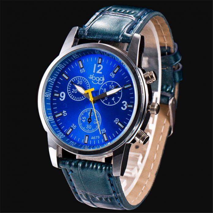 2016 Новые модели мужской часы известных брендов моды Случайные Моды Роскошь Крокодил Искусственной Кожи Мужская Аналоговые Часы Наручные Часы