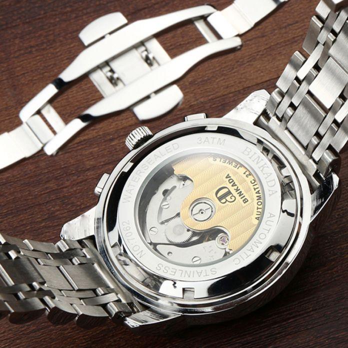 2016 Роскошные Механические Часы Tourbillon Часы Дизайнера Высокое Качество Сапфировое Стекло Часы с Дата День Полный Стали Часы для Мужчин