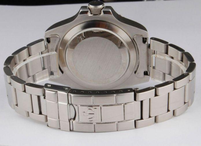 Роскошные Reginald Смотреть Мужчин Вращающийся Ободок GMT Дата Сапфир Нержавеющей Стали Женщины Спорт черный циферблат Кварцевые Часы Reloj Hombre