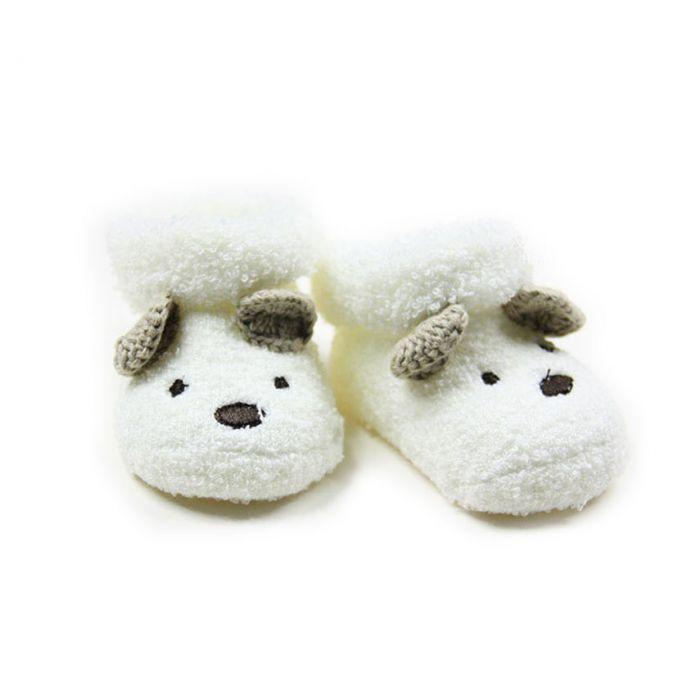 Детские Мягкие Полотенца Носки 0-12 Месяцев Малышей Младенческой Милый Медведь Детская Кровать В Обуви Унисекс Ребенок Удобная Одежда Для Ног