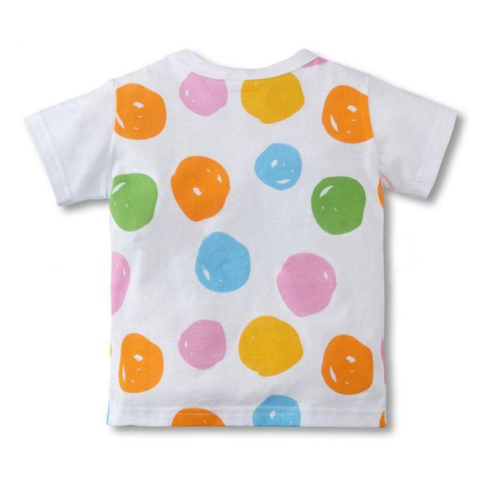 Горячая распродажа мальчики девочки футболка с коротким рукавом я люблю па ма серии детская одежда возглавляет дети товаров
