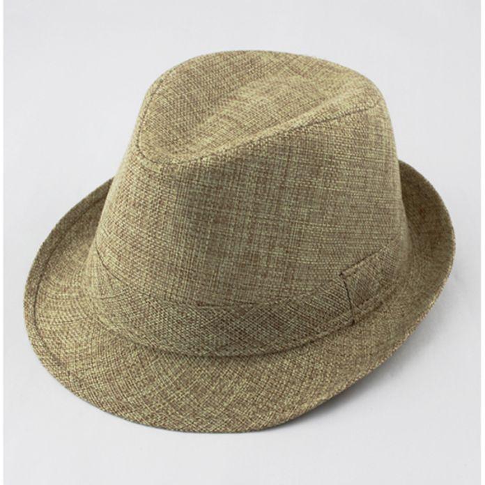 Ребенок фетровую шляпу сплошной цвет детей шляпа дети лен джаз шапка ковбойская шляпа Fedoras съемщики бесплатная доставка FH017