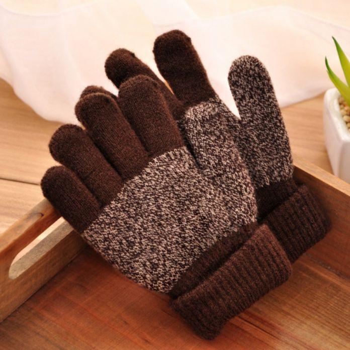 Новинка зимние теплые перчатки малыш мальчик девочка в теплые варежки перчатки пальцев