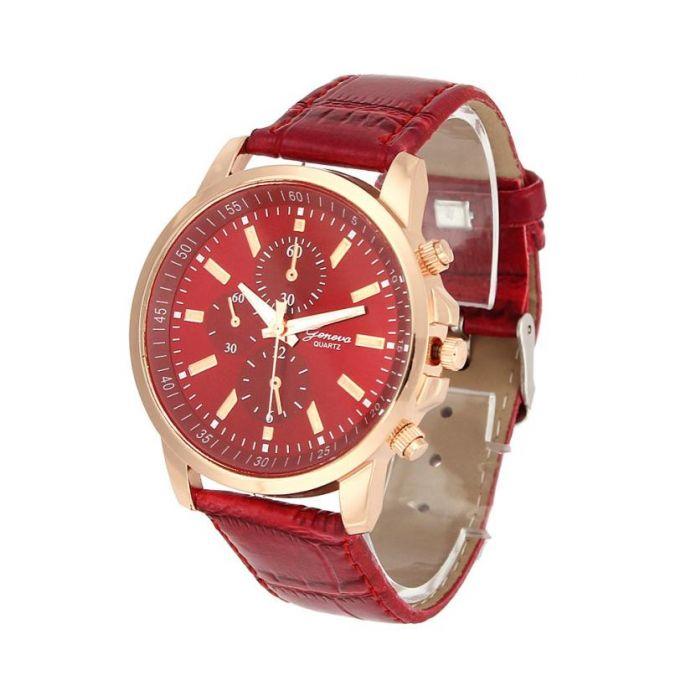 Наручные Часы с кожаным ремешком для мужчин и женщин reloj hombre