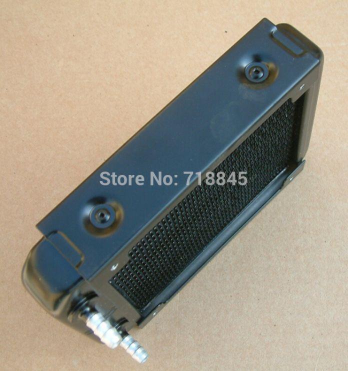 Новый Лучший 120 P водяного охлаждения головки алюминиевый водяное охлаждение радиатора 7 мм
