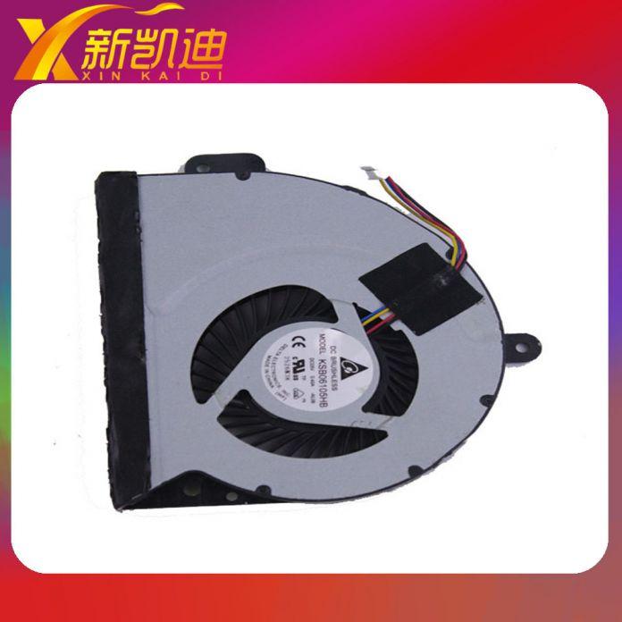 НОУТБУК CPU FAN ДЛЯ ASUS оригинальный вентилятор охлаждения для ASUS A43S K43S X53S K53S KSB06105HB Бесплатная доставка
