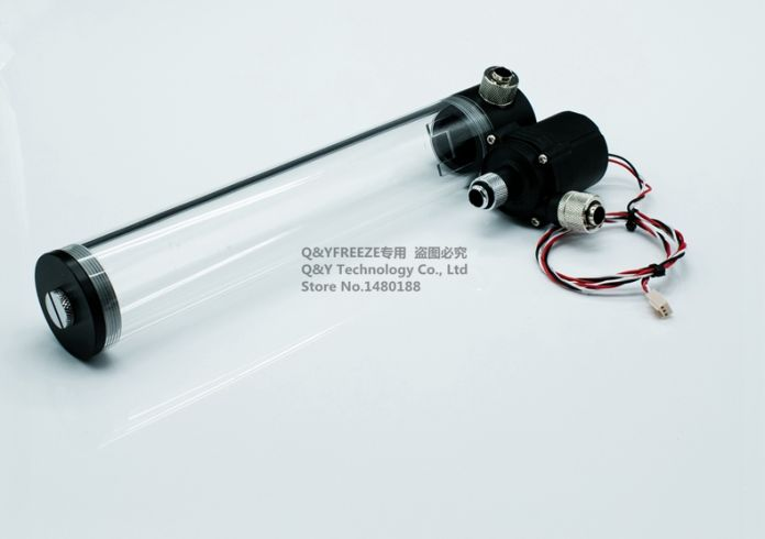 300 мм цилиндр цистерна с водой + SC600 насос все-в-одном набор Максимальный расход 600L/H компьютер водяное охлаждение радиатора. SC600B30