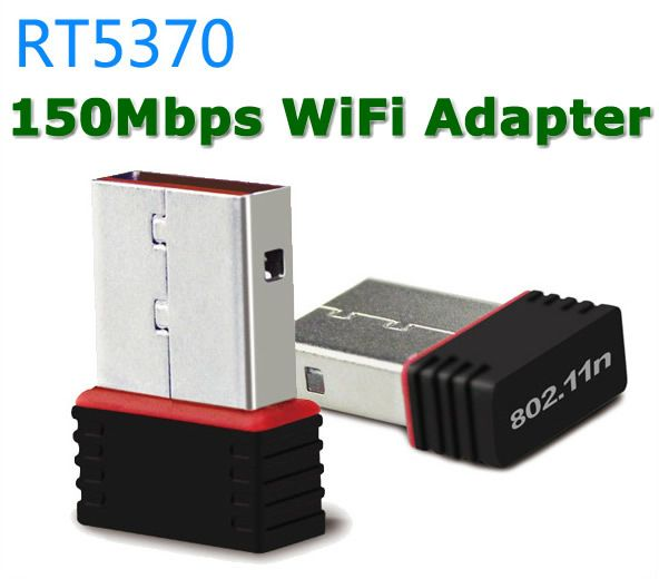 Ralink RT5370 150 Мбит Мини WiFi USB Адаптер Беспроводной Адаптер Wi-Fi Wi-Fi Сети карты для SKYBOX/Ноутбука PC/DVB/STB НЕТ CD