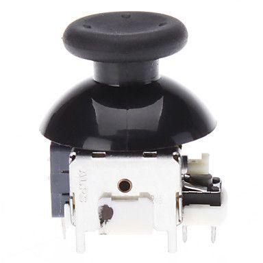 Черный Ремонт Беспроводной 3D Контроллер Аналоговый Джойстик/Джойстик Рокер Шляпки гриба Модуль Для Microsoft Xbox 360